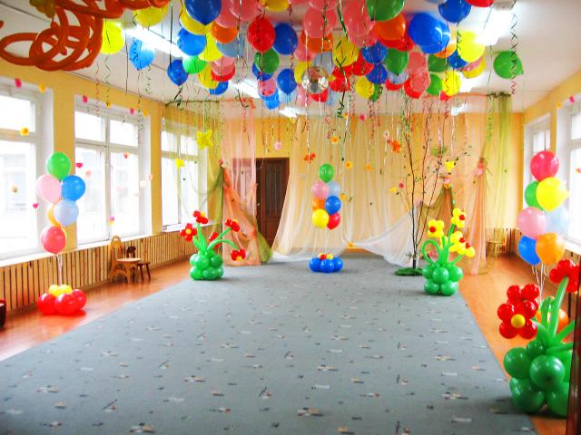 Украшения для зала в детском саду